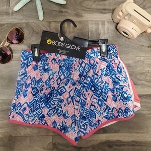 NWT- 2pk GIRLS BODY GLOVE Shorts